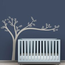 <strong>LittleLion Studio</strong> Trees Monochromatic Leaning Wall Decal