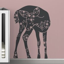 <strong>LittleLion Studio</strong> Black Label Vineyard Fawn Wall Decal