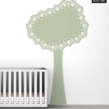 Black Label Eyelet Tree Wall Decal