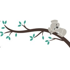 Tree Branches Koala I Wall Decal