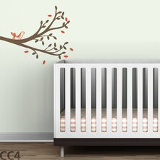 Tree Branches Tweet Wall Decal