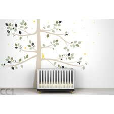 Follow The Little Rabbit Tree Extra Large Wall Decal