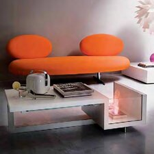Biocamini Coffee Table with Bio-Fireplace
