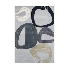 Wind Chime Gray Rug