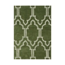<strong>Alliyah Rugs</strong> Green Rug