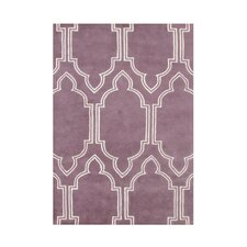 <strong>Alliyah Rugs</strong> Purple Rug