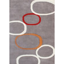 Beverly Hills Circles Geometric Rug