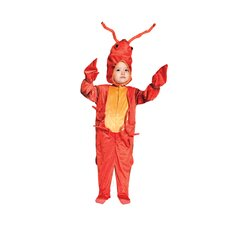 Lobster Costume in Printed