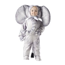 Elephant Costume in Printed Grey