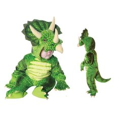 Triceratops Costume in Green