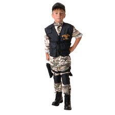 Seal Team Kids Costume