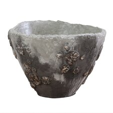 Lava Stone Freeform Decorative Bowl