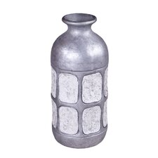 Antiqued Tile Decorative Bottle
