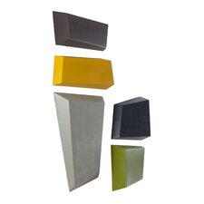 5 Piece Abstract Brazos Wall Décor Set