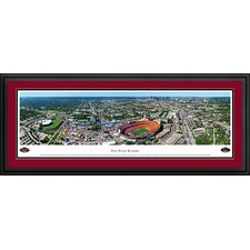NCAA Red River Rivalry - 50 Yard Line Deluxe Framed Photographic Print