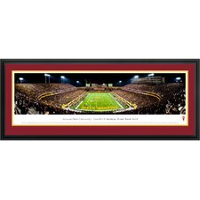 NCAA End Zone Deluxe Frame Panorama