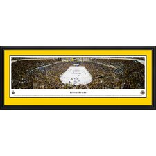 NHL End Zone Deluxe Framed Photographic Print