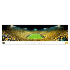 NCAA University of Michigan Unframed Panorama
