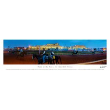 Dawn at Churchill Downs by James Blakeway Photographic Print