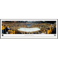 NHL Nashville Predators - Playoffs Standard Framed Photographic Print