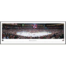 NHL Center Ice Standard Framed Photographic Print