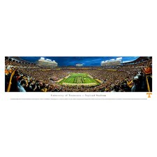 "NCAA University of Tennessee - Power ""T"" Unframed Panorama"