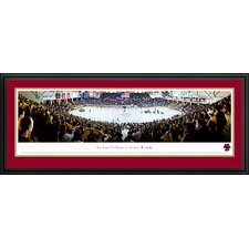 NCAA Hockey Deluxe Framed Photographic Print