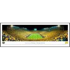 <strong>Blakeway Worldwide Panoramas, Inc</strong> NCAA University of Michigan Standard Frame Panorama