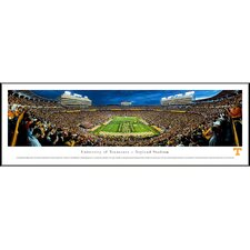 "NCAA University of Tennessee - Power ""T"" Standard Framed Photographic Print"