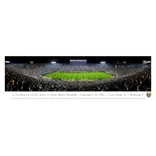 NCAA University of Notre Dame - 125 Night Photographic Print
