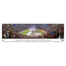 NFL Super Bowl 2013 by Christopher Gjevre Photographic Print