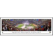 NFL Super Bowl 2013 by Christopher Gjevre Standard Framed Photographic Print