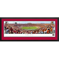NCAA Red River Rivalry - End Zone Deluxe Framed Photographic Print