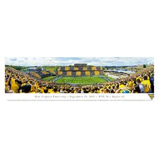 NCAA West Virginia University - by Christopher Gjevre Stripe Photographic Print