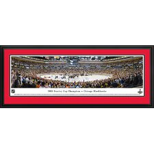 NHL 2013 Stanley Cup Champions - Chicago Blackhawks Deluxe Framed Photographic Print