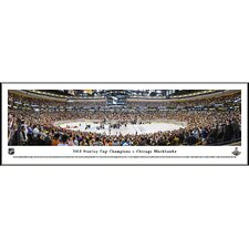 NHL 2013 Stanley Cup Champions - Chicago Blackhawks Standard Framed Photographic Print