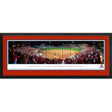 NCAA Baseball Deluxe Framed Photographic Print