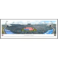 NFL Jacksonville Jaguars - Opening Ceremony by James Blakeway Standard Framed Photographic Print