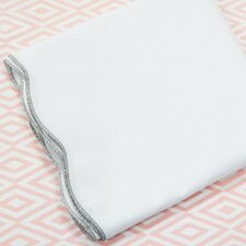 Scallop 2 Piece Crib Bedding Set