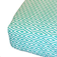 Diamond Fitted Crib Sheet