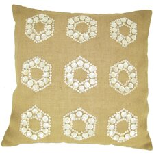 Mop Motif Jute Pillow