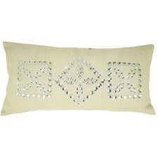 <strong>Design Accents LLC</strong> Jewel Frame Jute Pillow