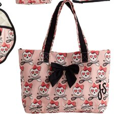 Lucie Cooking Bow Tote Bag