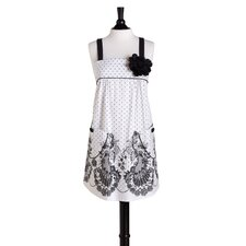 French Lace Bib Mia Apron