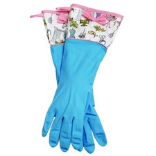 Paris Boutique Rubber Gloves with Bow