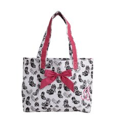 Goodie Two Shoes Tote Bag with Bow