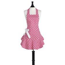 Pink and White Polka Dot Josephine Apron