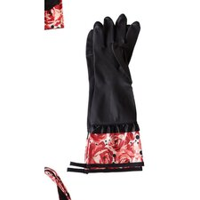 Deco Rose Rubber Gloves