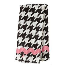 Giant Houndstooth Waffle Ric Rac Towel (Set of 2)