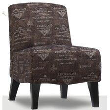 Carrie Fabric Slipper Chair
